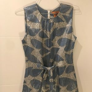 Tory Burch Sleeveless Top with tie